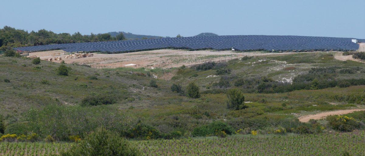 Permalink to: Parc photovoltaïque